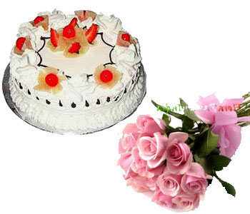 1-kg-pineapple-cake-with-12-pink-roses-bunch