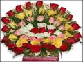 50 Mixed Roses Arrangement